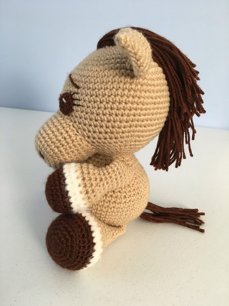 stuffed animal horses Stuffed horse stuffed toy pony plushie
