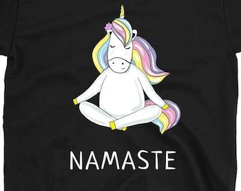 Unicorn yoga pose | Etsy