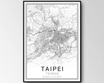 Taipei city map