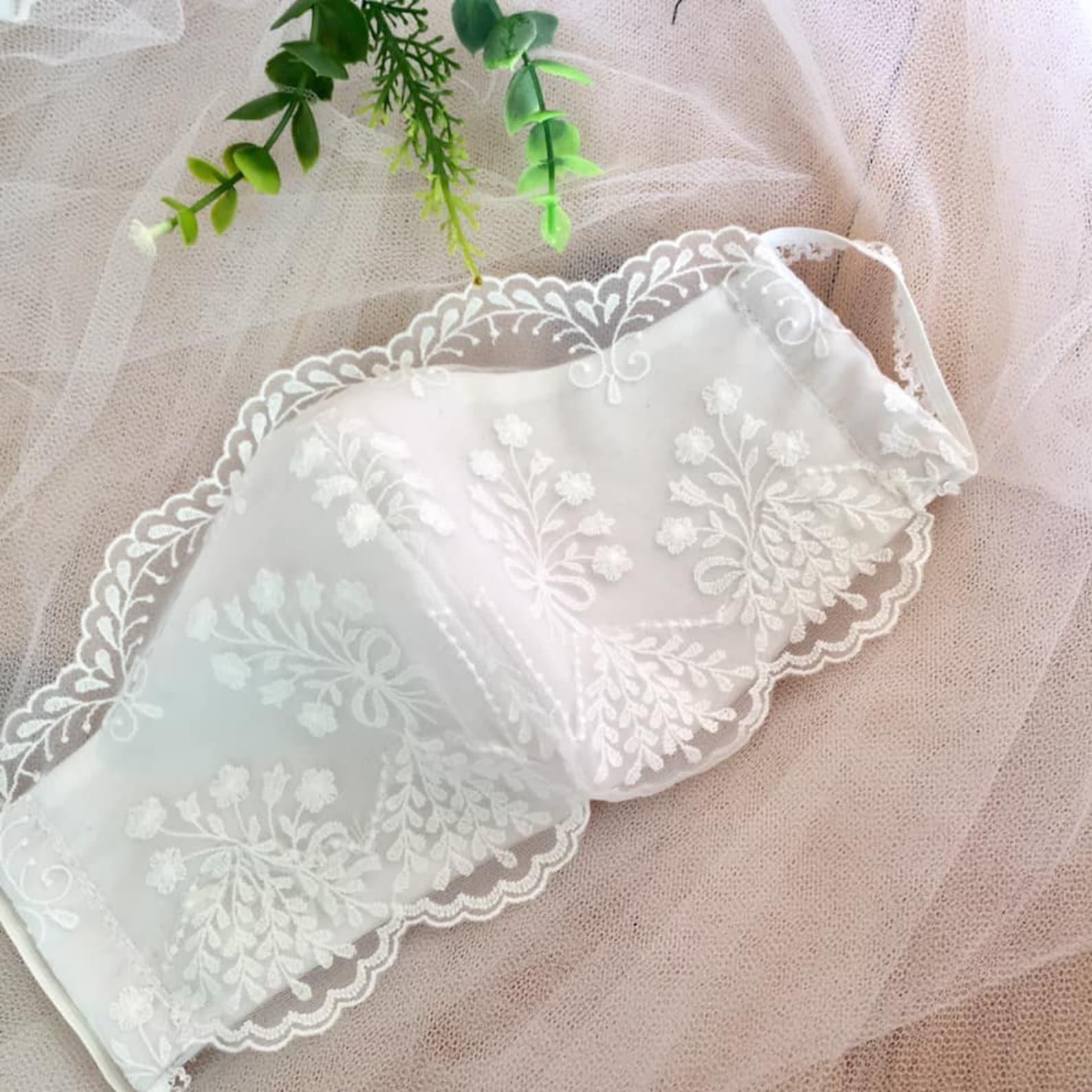 Hochzeit Maske Spitze