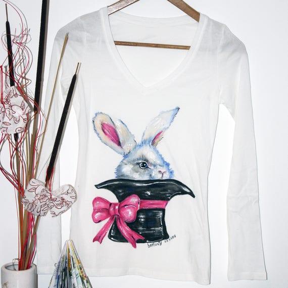 f2c99e1b8 Bunny shirt Animal shirt Animal t shirt Animal tshirt   Etsy