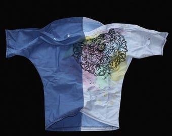 Asymmetric, Asymmetrical top, Asymmetrical tunic, Off the shoulder, Off shoulder, Off shoulder top, Off shoulder shirt, Off shoulder t shirt
