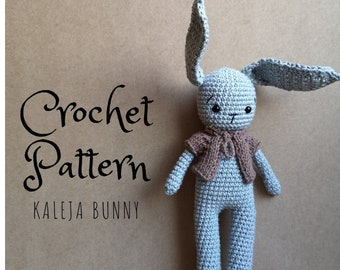 Kaleja Bunny amigurumi pattern (Deutsch + English)