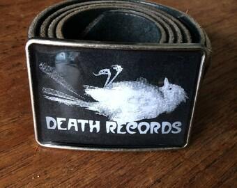 Death Records logo from Phantom of the Paradise