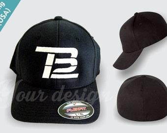 0dc3d0dd022 TB12 TOM BRADY flexfit Baseball Cap high quality stitching New England Patriots  flexfit hat