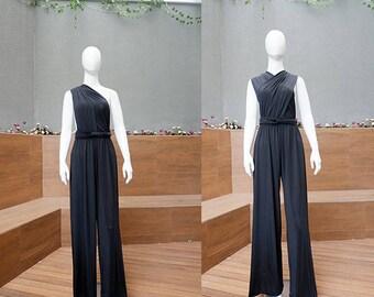 31f0a6f448cc Black Long Infinity Jumpsuit