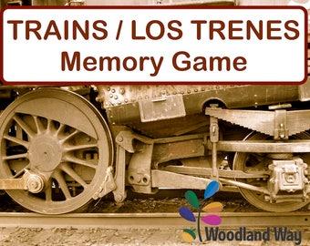 Trains Memory Game