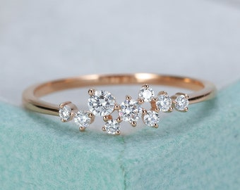 8e7afb7dbff Rose Gold Engagement Ring