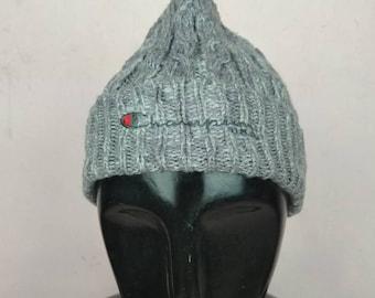cd3e4c094c2ec Vintage Champion USA Beanie  hat..very excellent condition..Polo monchler  yves saint Laurent hermes gucci tommy hilfiger versace chanel