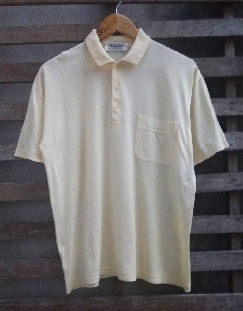 455f62e62 Vintage Bally polo tshirt..very excellent condition.Polo ralph | Etsy
