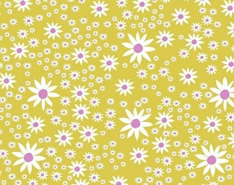 Daisies - Daisy Chain by Annabel Wrigley from Windham Fabrics - Daisy Fabrics - Windham Fabrics - Fabric by Yard - Annabel Wrigley Fabrics