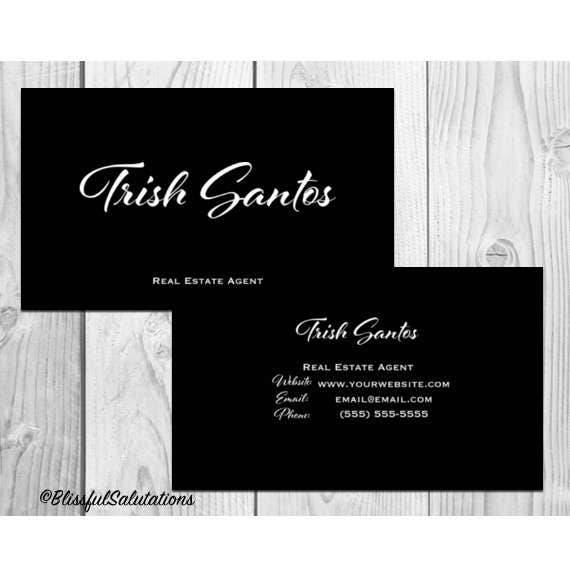 Business cards blissful salutations 2000 business card design modern black and white business cards digital design personal calling reheart Image collections