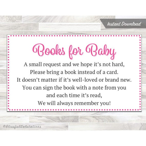 graphic relating to Bring a Book Baby Shower Insert Free Printable referred to as Boy or girl Shower Printable Kid Shower Provide a E book Card, Carry a