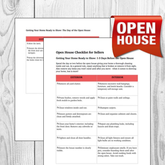 Open House Event Planner