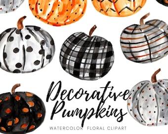 Halloween fall pumpkins - pumpkin clipart - pumpkin graphics - commercial use