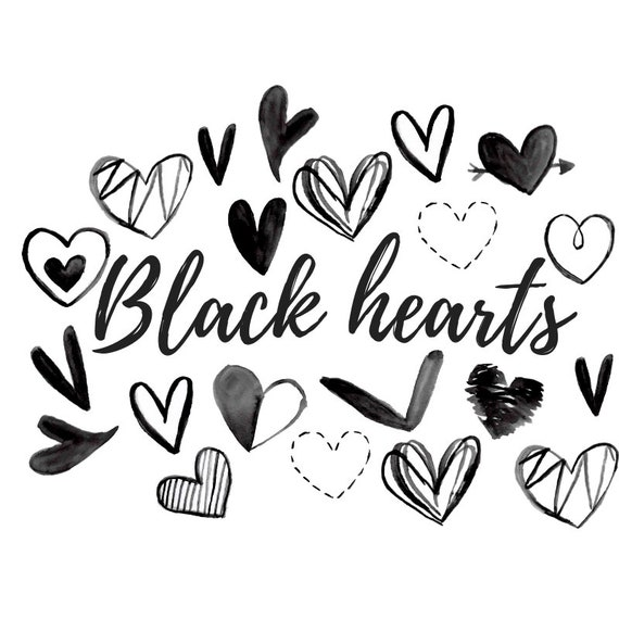 Watercolor Clipart Black Heart Doodle Clip Art Valentines Etsy Doodle is the simplest way to schedule meetings with clients, colleagues, or friends. watercolor clipart black heart doodle clip art valentines day grahics doodle sketch commercial use