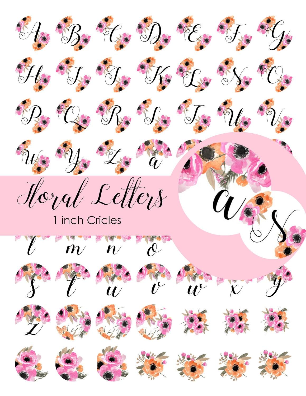 Bottle Cap Images Collage Sheet Letter College Sheet   Etsy