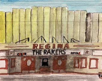 The Rakers REGINA CD