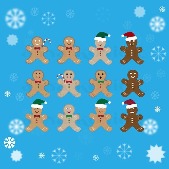 Gingerbread Man Clip Art Cookie Vector Graphics