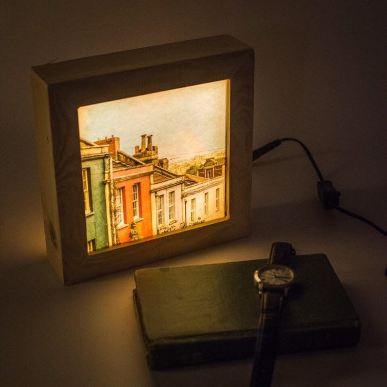 Rainbow lamp // Rainbow light box // Lightbox // Night light image 0