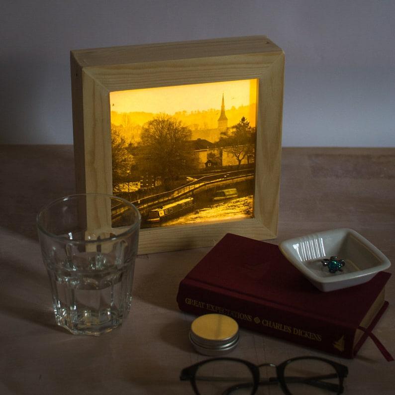 Unique lamp  // Bath UK // Plug in night light //  LED image 0