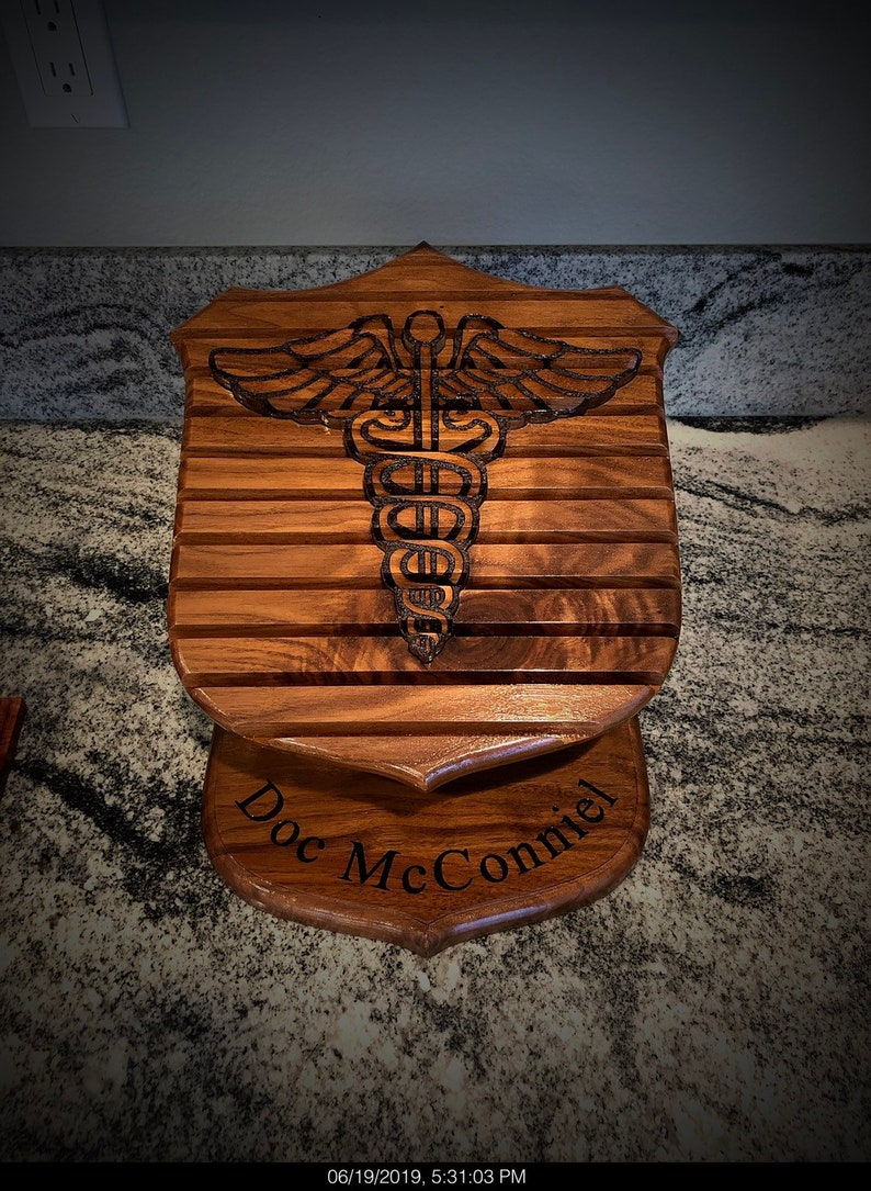 Hospital Corpsman Challenge Coin Holder