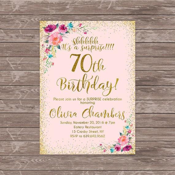 70th surprise birthday invitation any age women birthday etsy image 0 filmwisefo