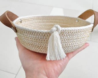 Everything Tassel Basket
