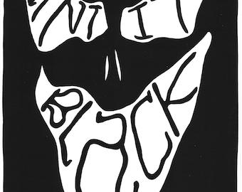 FACE SIGIL: Paint it Black