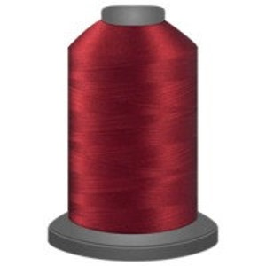 quilting thread, cardinal red thread glide trilobal polyester no 40 Tex 27 sewing thread