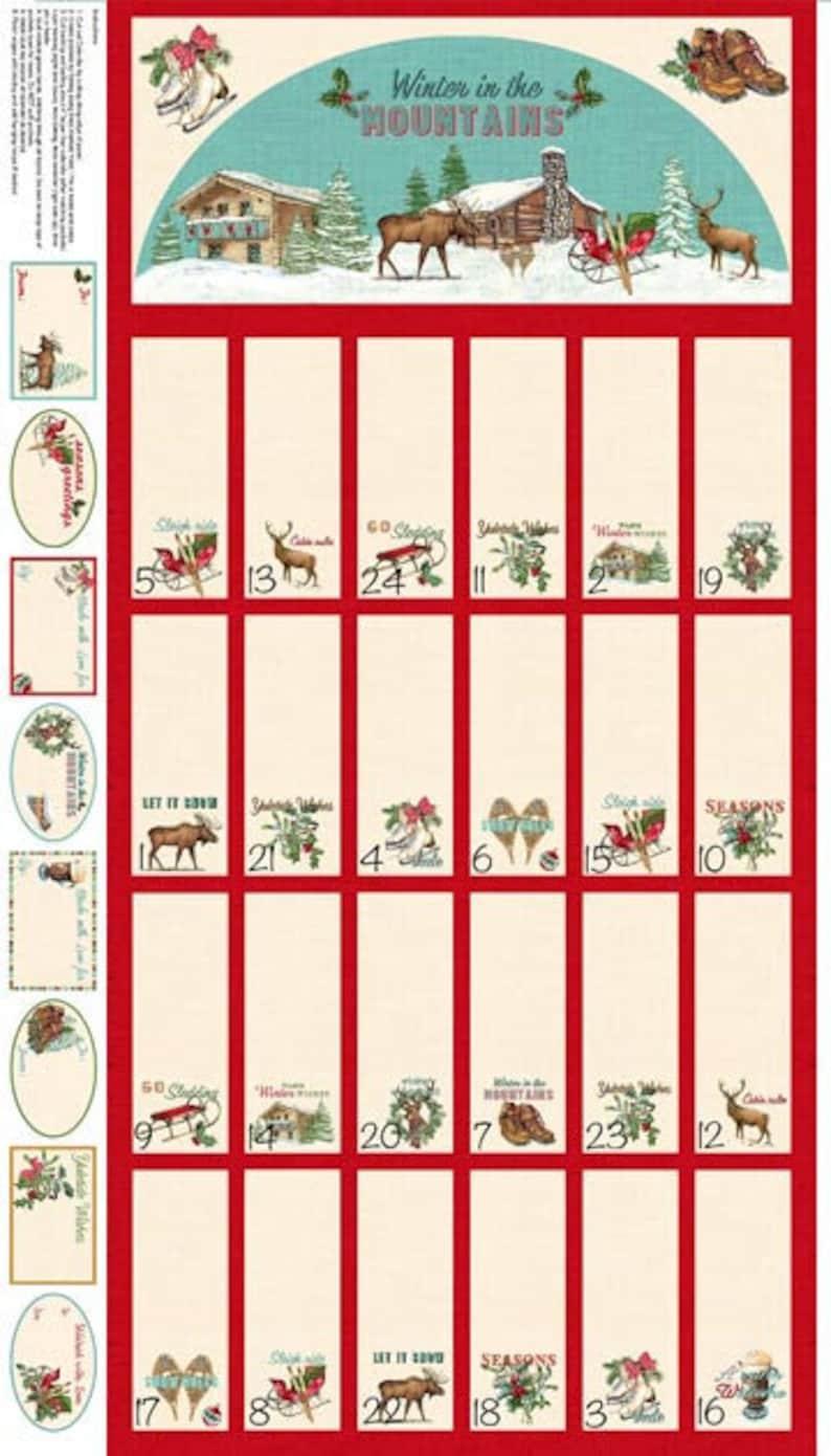 Advent Calendar Christmas Countdown Reusable Advent Etsy
