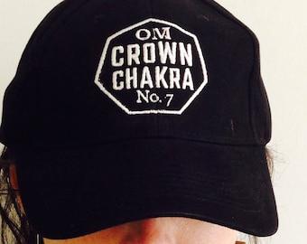 983c0467cff Crown Chakra Dad Style Hat Dad Hat Baseball Hat  Yoga Cap  Meditation  Chakras Trucker Caps
