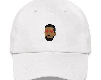 5498fd0b09176 drake embroidery dad hat