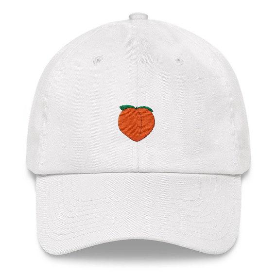 1337020c107 peachy hat dad hat peach dad hat peach peach emoji peach