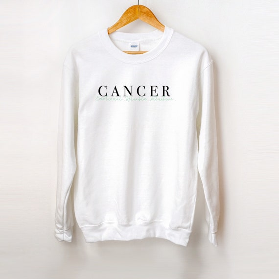 Cancer Zodiac Unisex Crew Neck Sweatshirt