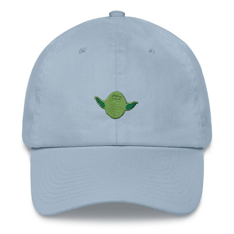 buy online 128a0 d19cc ... where can i buy yoda dad hat yoda embroidered yoda hat star wars dad hat  etsy