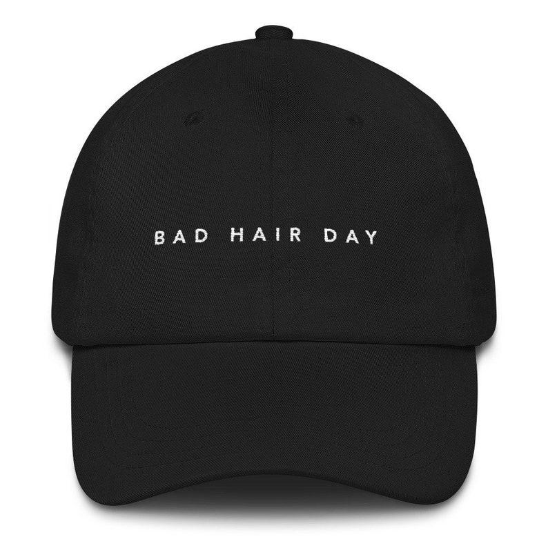 4c8917be Bad Hair Day Dad Hat baseball cap bad hair day funny dad | Etsy