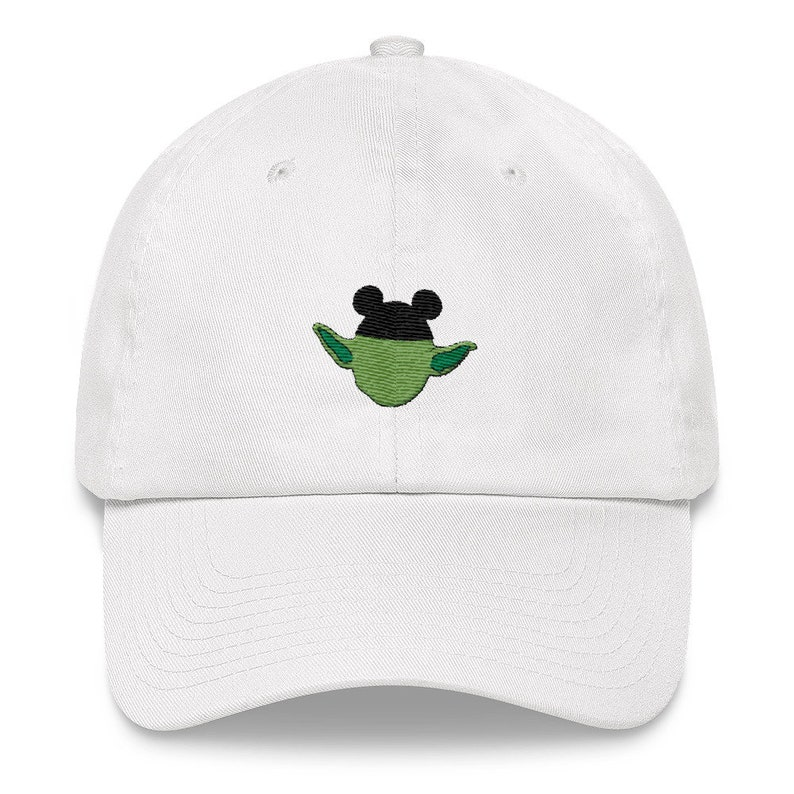 7cb44331 Yoda with mickey ears dad hat disney hats disney baseball | Etsy