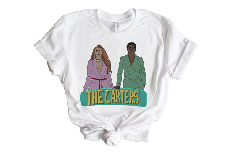 33610f7c3 The Carters graphic tee beyoncé Jay-Z the carters on the | Etsy