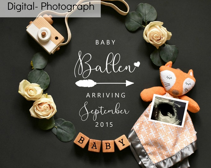 Personalized Pregnancy Announcement for Social Media Announce