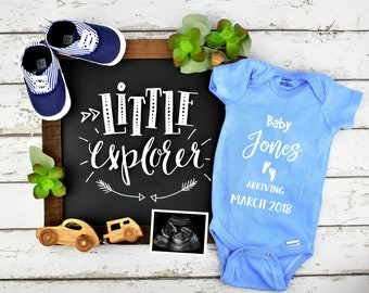 Digital Boy Gender Pregnancy Announcement