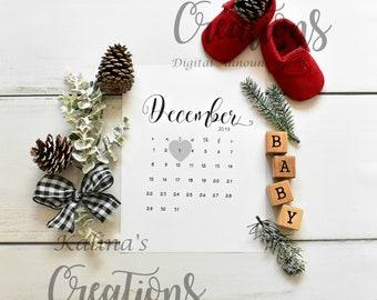 December 2019 Pregnancy Announcement