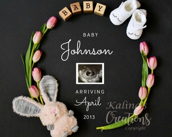 Easter Pregnancy Announcement for Social Media