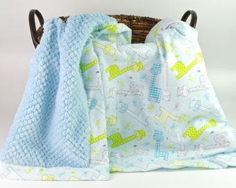 Baby Boy Blankets  - Personalized baby blanket