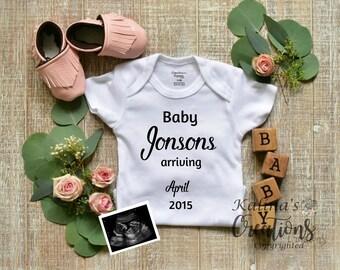 Baby girl Gender Reveal Social Media Announce