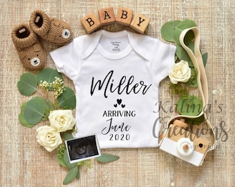 Personalized Pregnancy Announcement - Custom Reveal