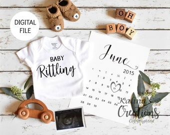 Boy Gender Reveal for Social Media Announce