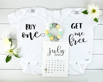 Buy One Get One Free Twin Onesies