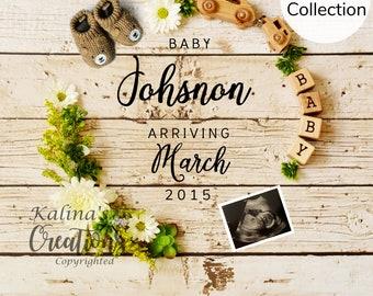 Camping Pregnancy Announcement - Social Media Announce