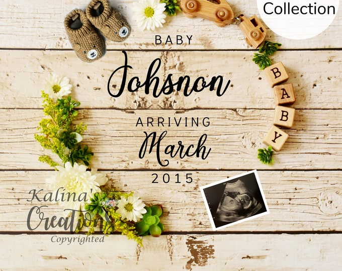 Camping Pregnancy Announcement - Social Media Announce